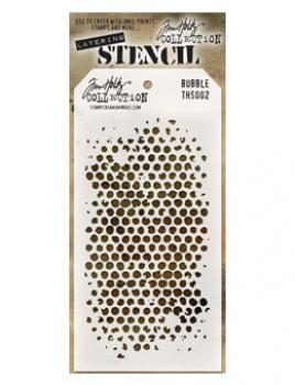 Tim Holtz Schablone - Bubble