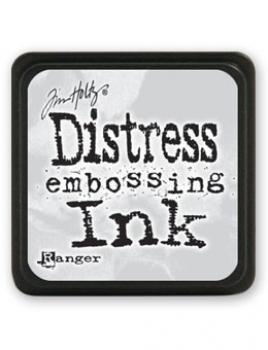 ✸ Tim Holtz Mini Distress EMBOSSING Stempelkissen Farblos ✸
