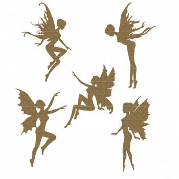 Lasercut - Tiny Fairies - Kleine Feen