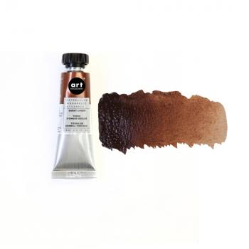 ❀Art Philosophy Watercolor Tube - BURNT UMBER