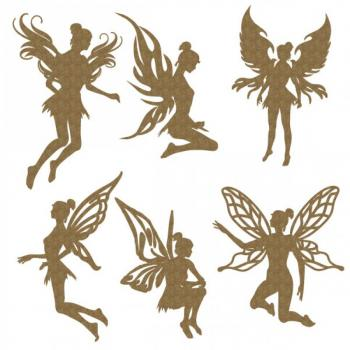 Lasercut - Fairies