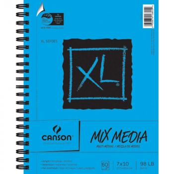 "Canson - Mix Media Spiralblock 7"" x 10"""