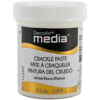 Deco Art Crackle Paste Weiss