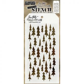 ✸Tim Holtz Schablone Tree Lot✸