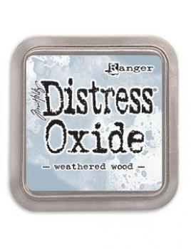 ✸ Distress Oxide Weathered Wood Stempelkissen ✸