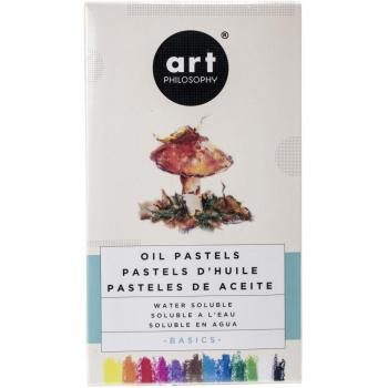 ❀ Prima Marketing Art Philosophy Oil Pastels BASICS ❀