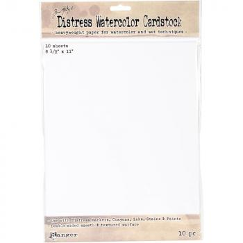 "Tim Holtz Distress Watercolor Cardstock - 8.5"" x 11"""