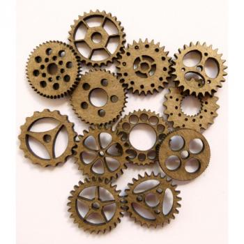 Lasercut Mini Gears 3/4 Set