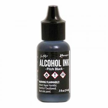 Tim Holtz Alcohol Ink - PITCH BLACK