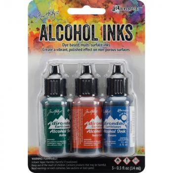 Tim Holtz Alcohol Ink Kit# Rustic Lodg