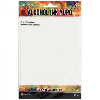 Tim Holtz - Alcohol Ink Yupo - Weiss