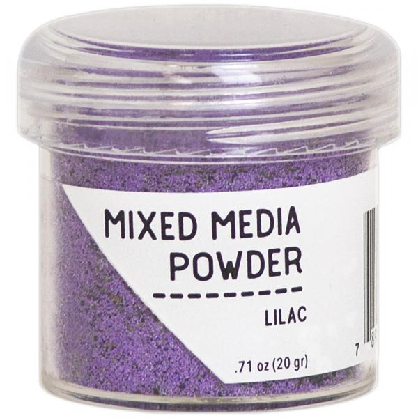 Mixed-Media Powder Lilac