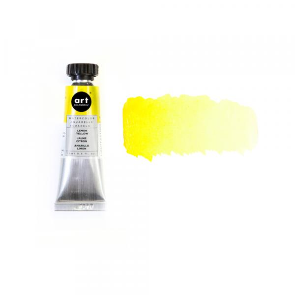 ❀ Art Philosophy Watercolor Tube - LEMON YELLOW