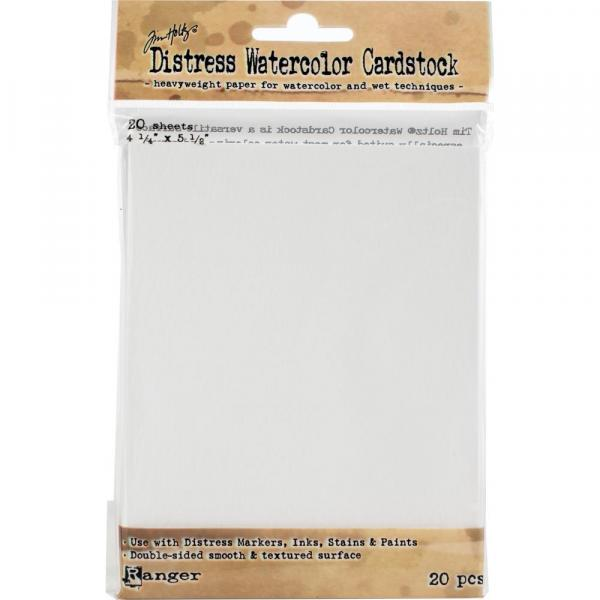 "Tim Holtz Distress Watercolor Cardstock - 4.25"" x 5.5"""