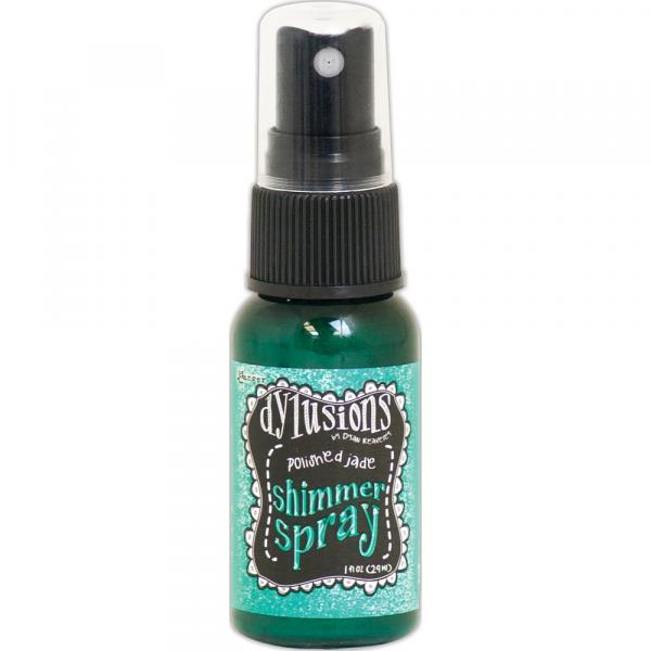 Dylusions Shimmer Spray Polished Jade